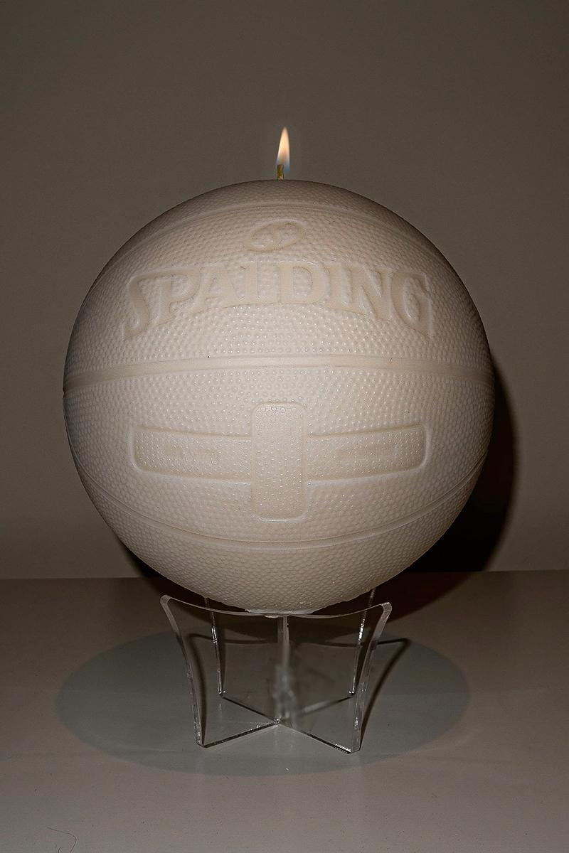cent.ldn OG SPALDING BASKETBALL CANDLE Release | HYPEBEAST