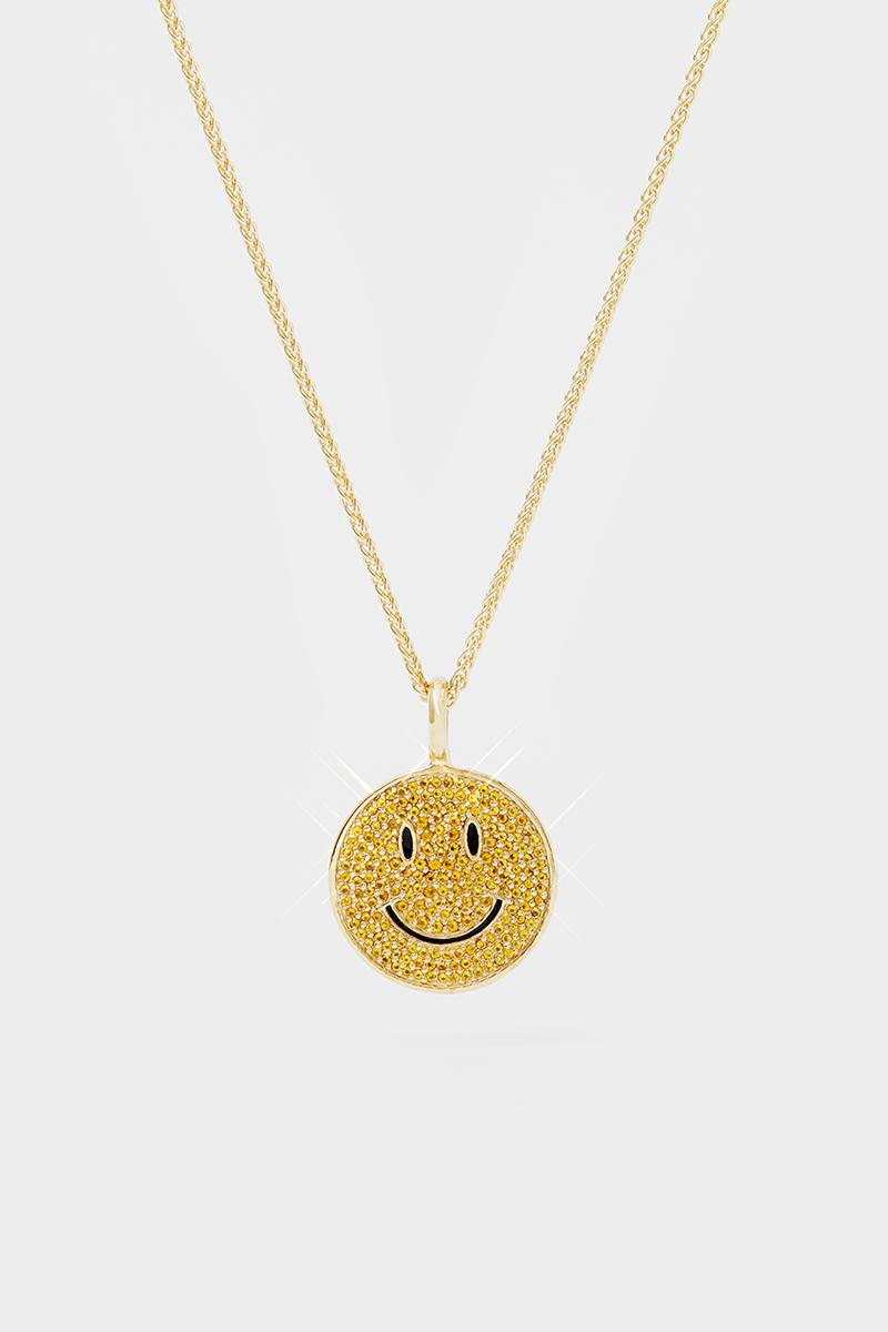 Hatton Labs Chinatown Market Smiley Face Jewelry necklaces accessories rings mike cherman pieces gemstones