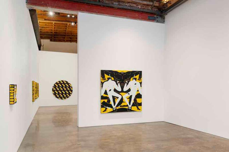 cleon peterson hysteria exhibition over the influence los angeles gallery
