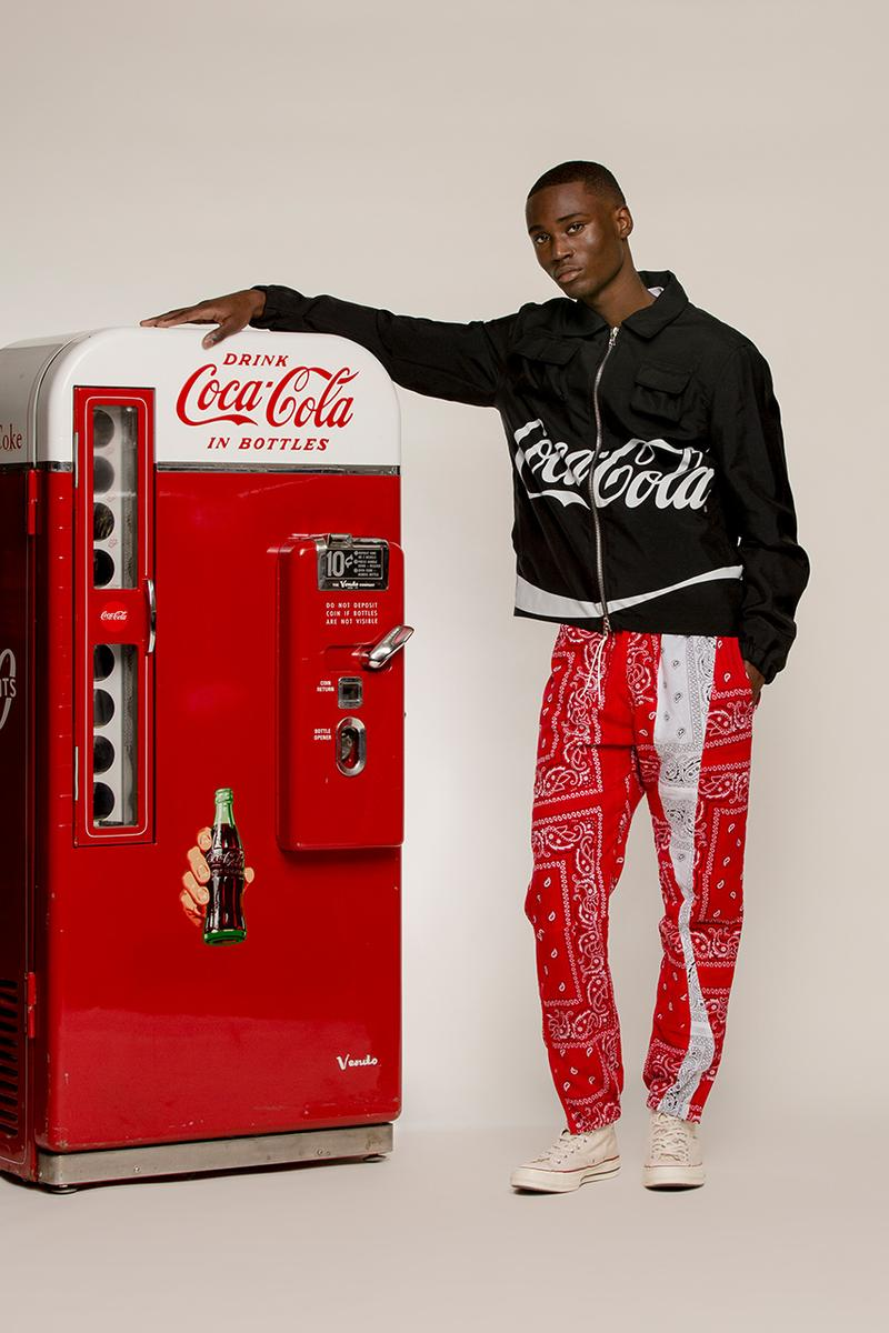 clothsurgeon Coca Cola capsule collection information release dates tailoring