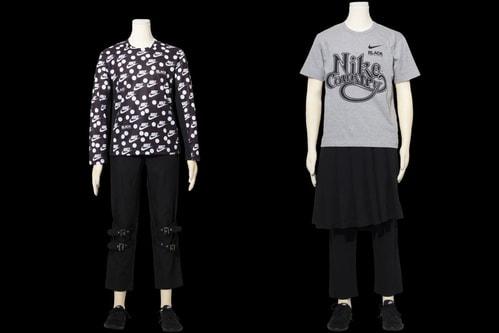 BLACK COMME des GARÇONS Rejoins Nike for More Retro Graphics