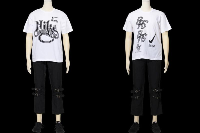 BLACK COMME des GARÇONS x Nike FW20 Drop 1 fall winter 2020 collaboration collection apparel clothing release date info buy Blue Ribbon Sports