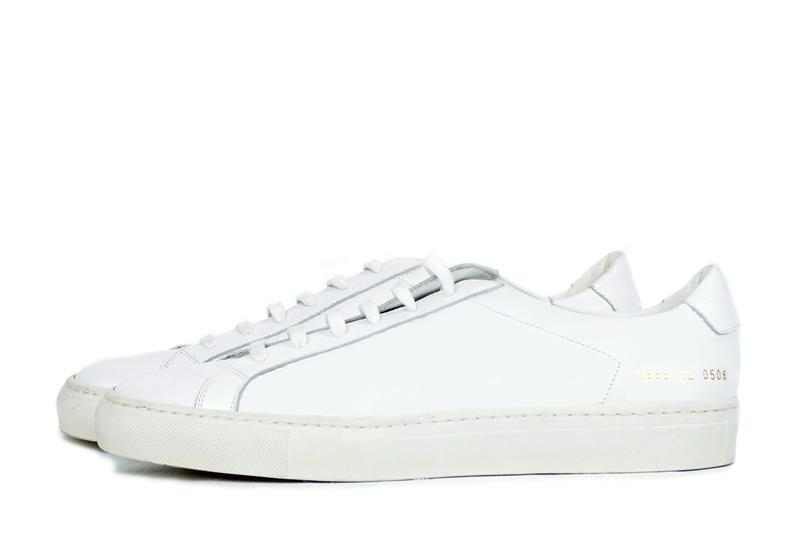 Common Projects Archive, Sample Footwear Sale sneakers achillies combat boot derby slip on sneaker the news showroom new york location website store