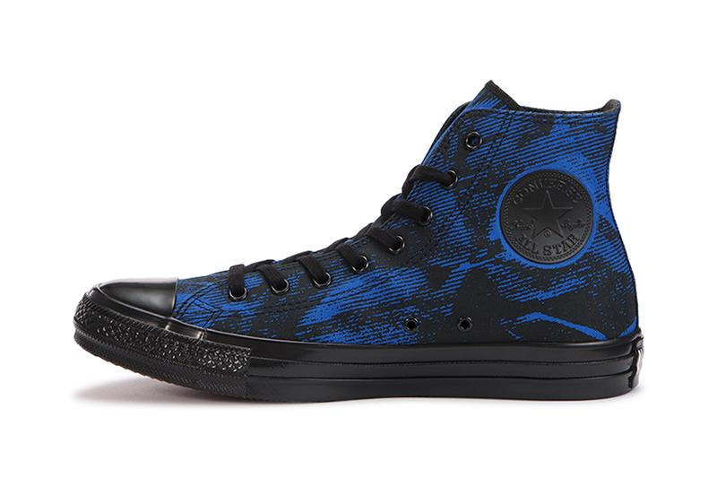 Converse Japan ALL STAR Blue Wash Red menswear streetwear fall winter 2020 collection fw20 shoes sneakers kicks trainers runners hi tops