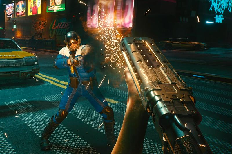 Cyberpunk 2077 new gameplay footage video games pc playstation 4 ps4 xbox one keanur reeves night city