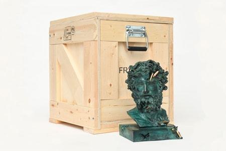 Daniel Arsham Unwraps New 'Bronze Eroded Jupiter' Sculpture Edition
