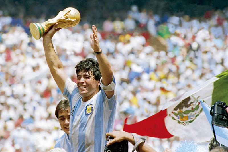 Diego Maradona died dead passed away aged 60 Argentina football legend