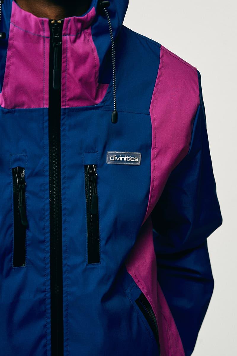 DIVINITIES Fall 2020 Lookbook menswear streetwear apparel jackets shirts sweaters pants t shirts Fw20 collection