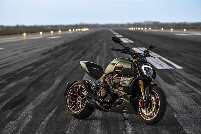 ducati diavel 1260 power cruiser lamborghini hypercar motorcycle sian fkp 37