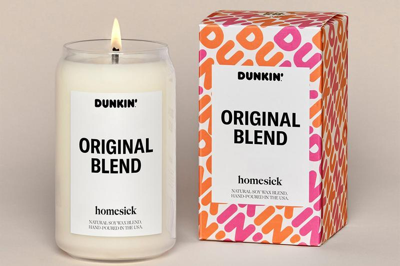 Dunkin Donuts Homesick Candles original blend old fashioned Release info