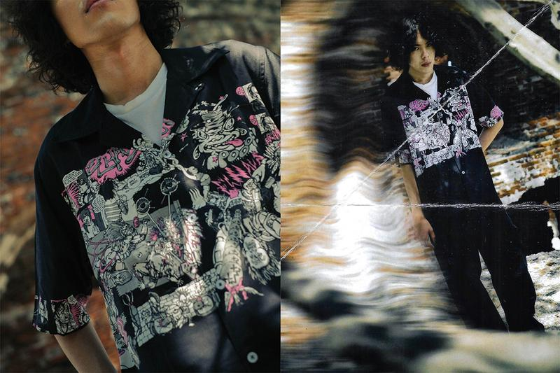 Elhaus Fall Winter 2020 Breaking Glass Editorial menswear streetwear jackets shirts pants trousers long sleeves sweaters shirts