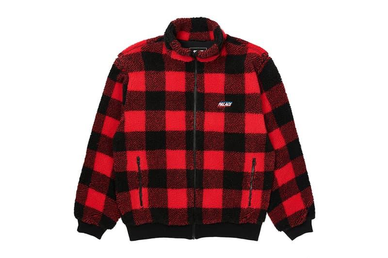 Palace Skateboards Winter 2020 Week 7 Drop List Jacket Sweater Crewneck Longsleeve Bottoms Hat Cap Beanie