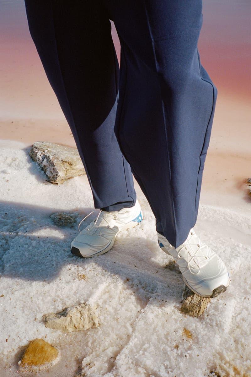 Évoque Studio Fall/Winter 2020 Collection Lookbook fw20 salomon sneakers clothing