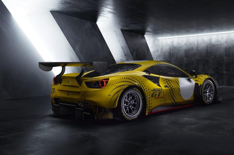 Ferrari 488 GT Modificata GT3 Race Car Track Mode Italian Supercar 3.9-litre twin-turbo V8 690bhp Custom Livery Tuned Automotive Design Luxury Power Speed Performance Handling