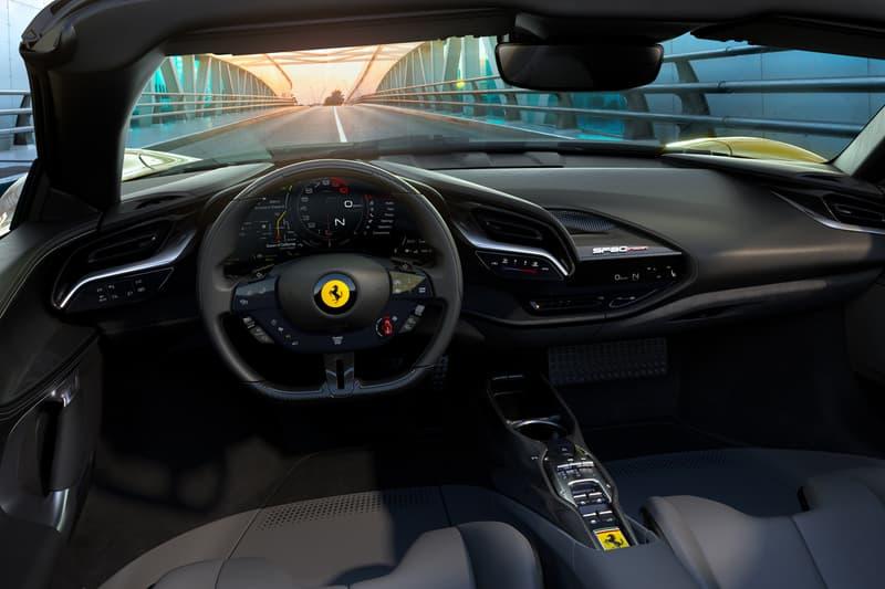 Ferrari SF90 Stradale Spider Hybrid V8 Convertible Drop Top Roofless Italian Supercar Hypercar Performance Speed Power Handling Price Maranello PHEV