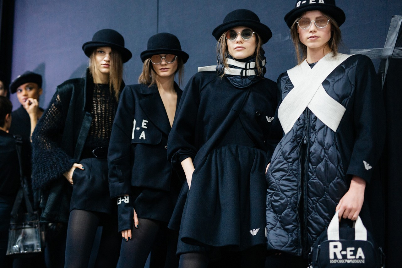 How Armani's R-EA Collection Sets a New Standard for the World of Luxury Fashion Emporio Armani Sustainable Fashion Biodegradable Fibers Streetwear HYPEBEAST