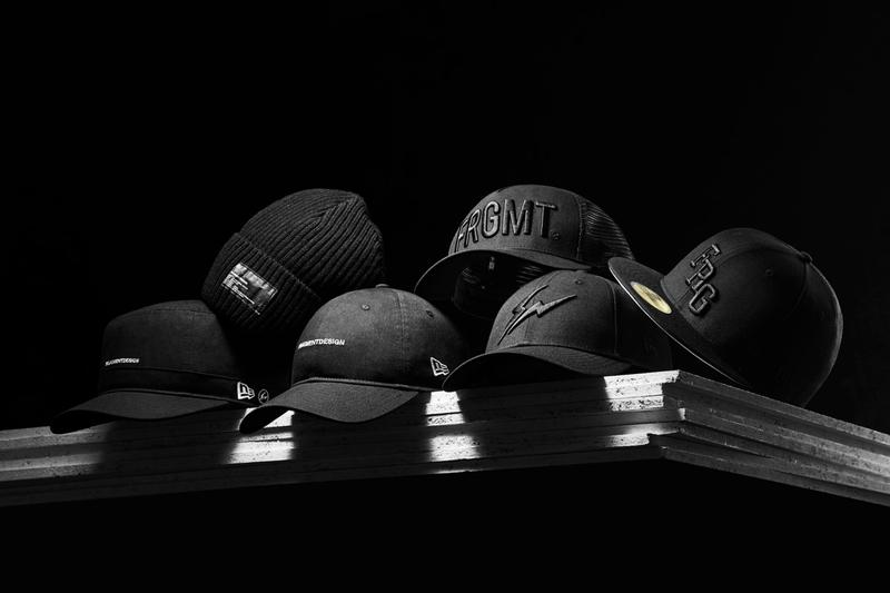 fragment design hiroshi fujiwara new era cap hat headwear collection fitted trucker dad snapback beanie official release date info photos price store list buying guide