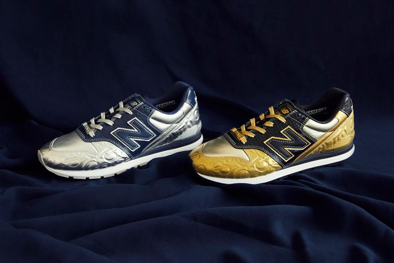 franck muller new balance 996 collaboration navy blue black metallic gold silver official release date info photos price store list buying guide