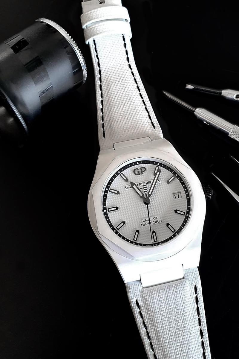 Girard-Perregaux Bamford Watch Department laureato ghost release information 45 piece rare expensive watches