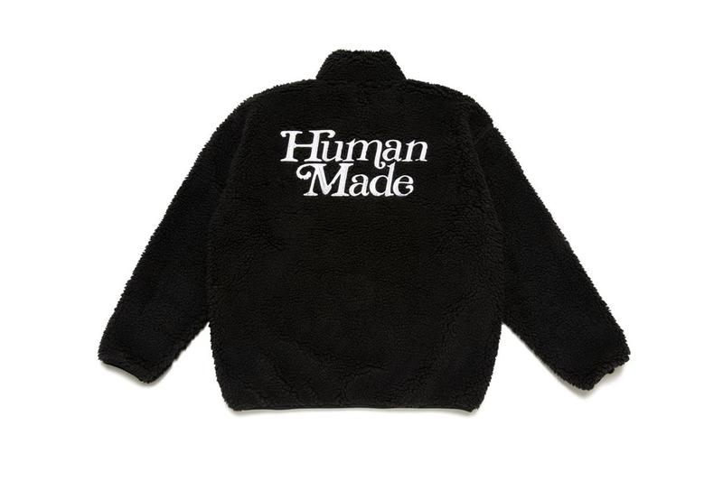 Girls Don't Cry x HUMAN MADE Fall Winter 2020 FW20 Collaboration Verdy NIGO Japanese Designers Streetwear Elevated Essentials Varsity Jacket Borg Fleece Hoodies T-Shirts Sweaters Caps Tote Bags Lifestyle Accessories