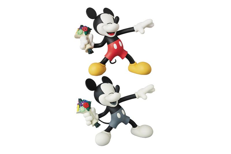 glamb medicom toy throw mickey vcd figures collectibles editions