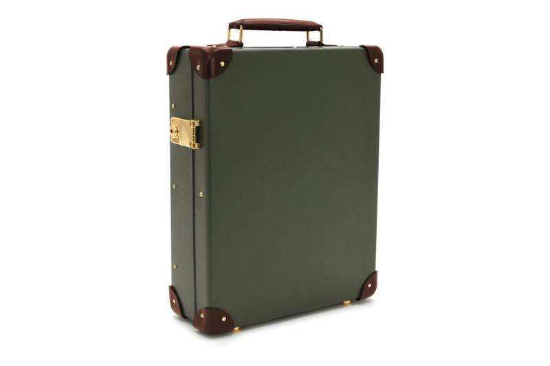 globe trotter england centenary 12 slot watch case box display luxury timepieces accessories travel luggage