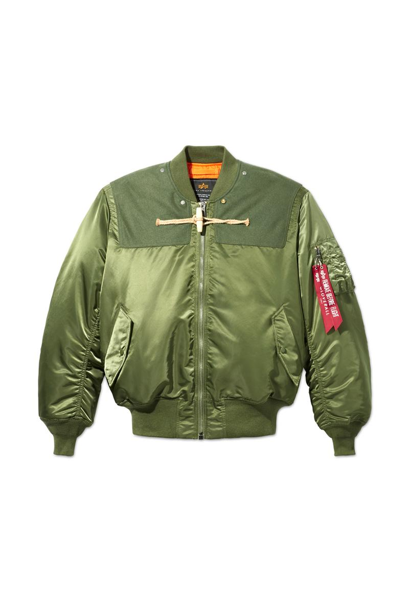 Gloverall x Alpha Industries Fall/Winter 2020 Limited-Edition Capsule Collection Coats Outerwear Jackets Release Information Drop Date Cop Seasonal Clothing Mens Womens Unisex Military Flight Green Black