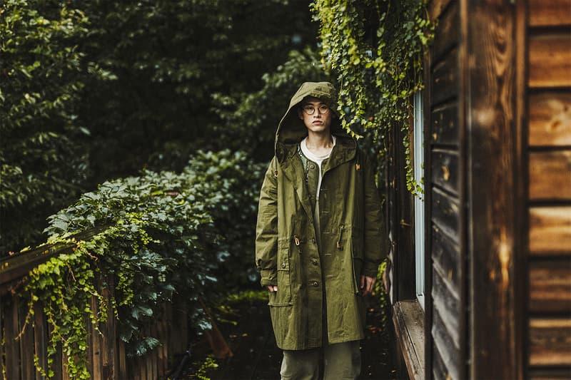 GORT FW20 Collection Lookbook 432Hz Release Info Bandana Block Pants Wind Breaker Jacket Liner Sweden 70s snow waxed coat