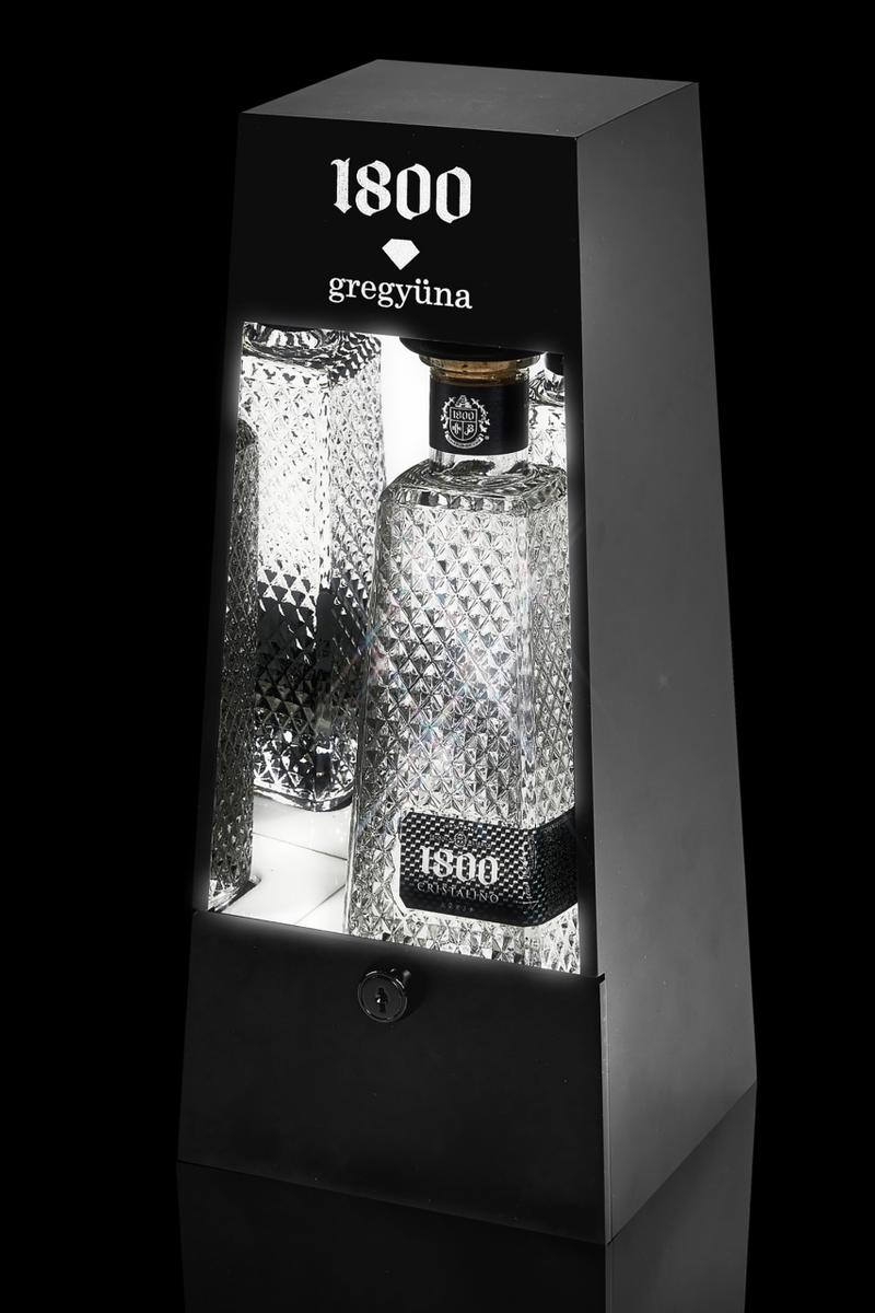 Greg Yuna x 1800 Tequila Luxury Bar Case on NTWRK crystals diamonds jewels jewelry