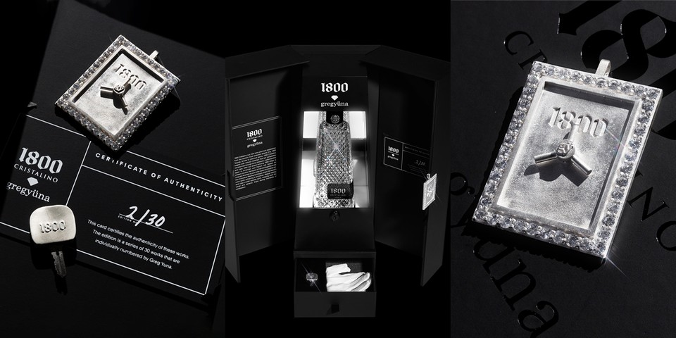 Greg Yuna Creates the Most Decorated Bar Case for 1800 Tequila
