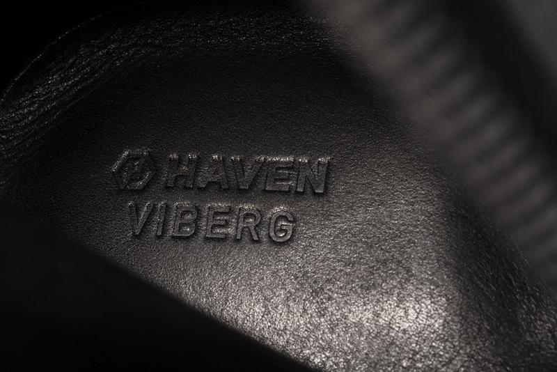 HAVEN x Viberg Service Boot, Officer Derby FW20 collaboration fall winter 2020 collection horween leather shoe footwear release date info buy vibram goodyear welt
