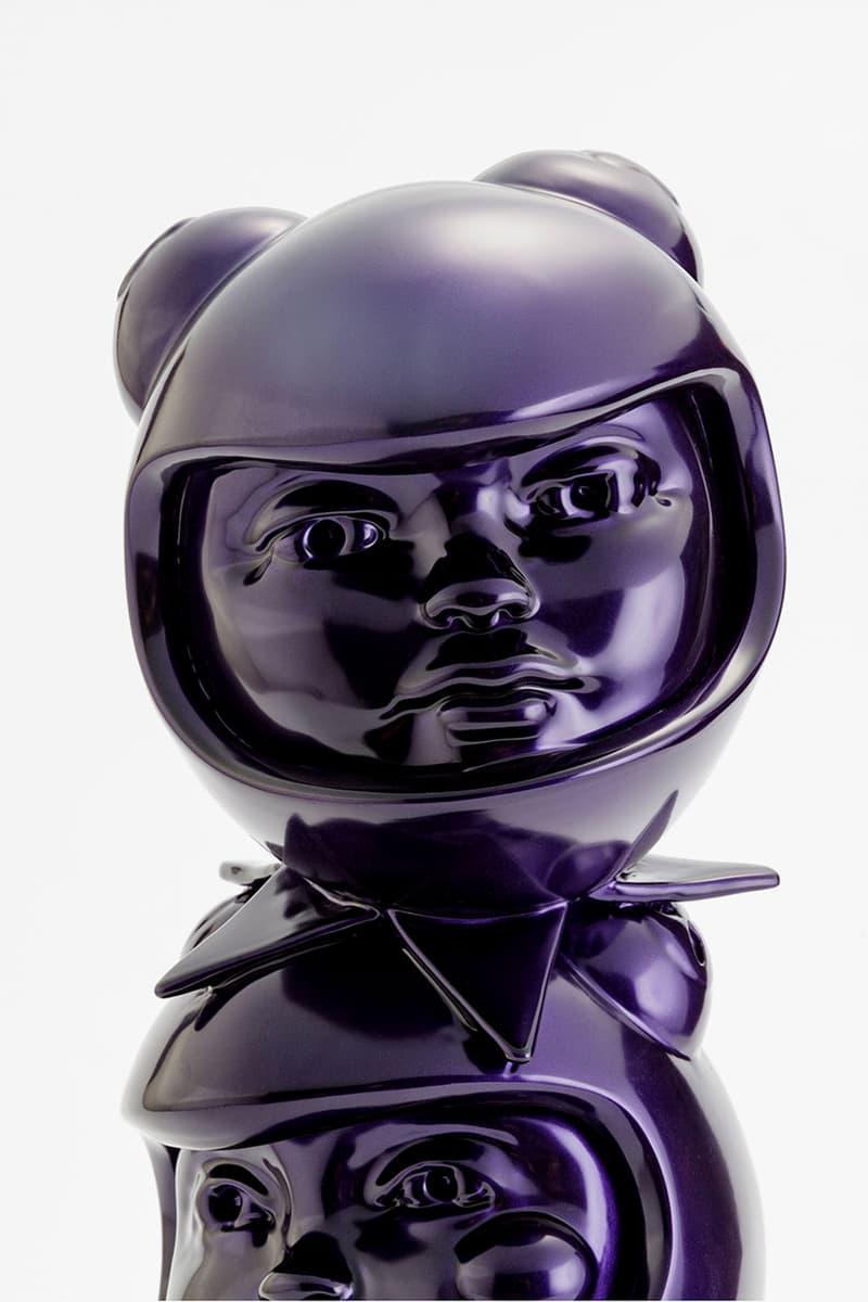 Hebru Brantley '3 THE HARD WAY' Avant Arte Drop sculpture print edition limited release date info buy flyboy