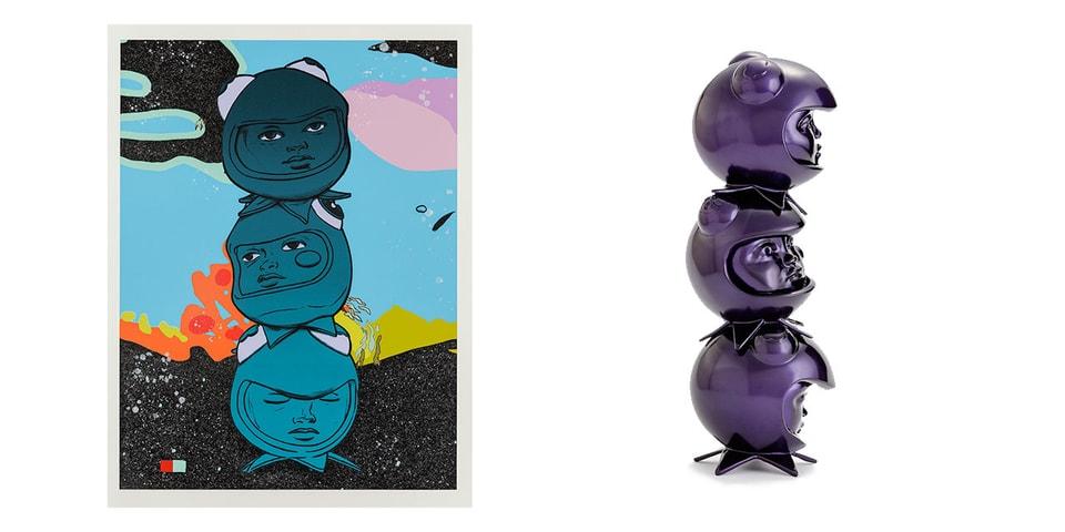 Avant Arte Exclusively Launches Hebru Brantley's '3 THE HARD WAY' Sculpture, Print