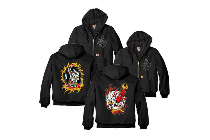 henbo henning embroidered carhartt jackets