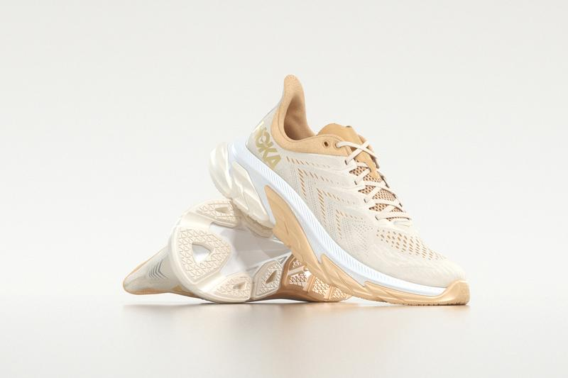 Hoka one one gold standard pack running sneakers trainers when do they drop where to buy