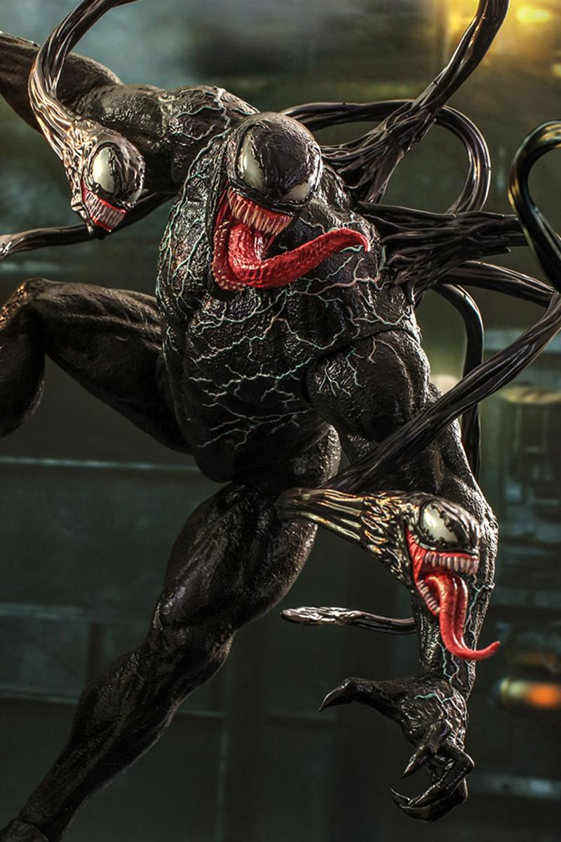 Hot Toys Releases Menacing 1:6-Scale Venom Figure Eddie Brock Marvel Hong Kong Figures Riot Toys Collectibles