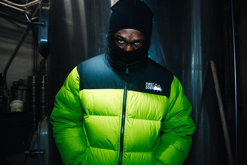 HUF first down fall winter 2020 release information collection reversible outerwear