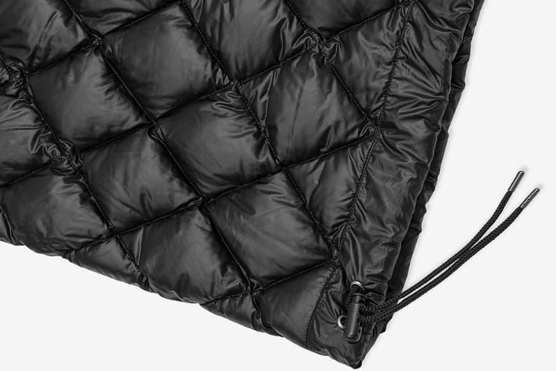HYPB FRGMT hypebeast fragment design Hiroshi Fujiwara Stationeries Collection Drop one essentials Nanga sleeping bag Victorinox Spartan pocket knife Ramidus tote bag