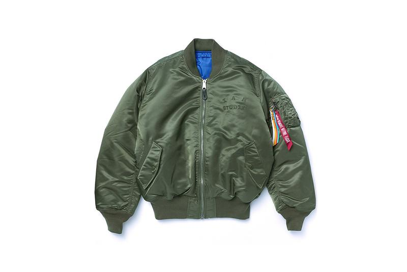 IAB-Studio x Alpha Industries Capsule Collection South Korean Fashion Brand Beenzino MA-1 Jacket Sweater Nylon Reversible Military Fall Winter 2020 Outerwear Coats T-Shirt