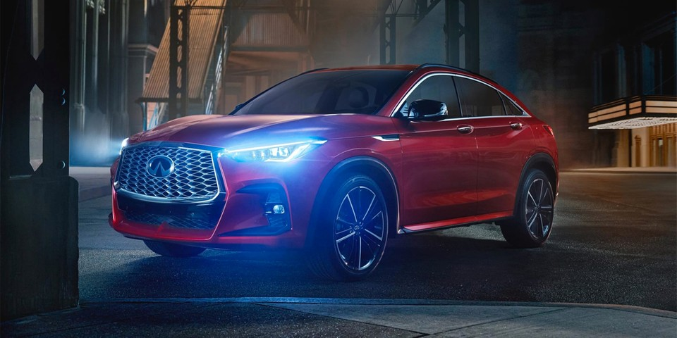 Infiniti Ventures Into the Crossover Coupe Market With Its 268-Horsepower QX55