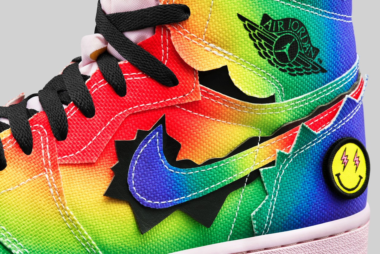j balvin air jordan brand 1 high dc3481 900 colores vibras green blue yellow red black white official release date info photos price store list buying guide