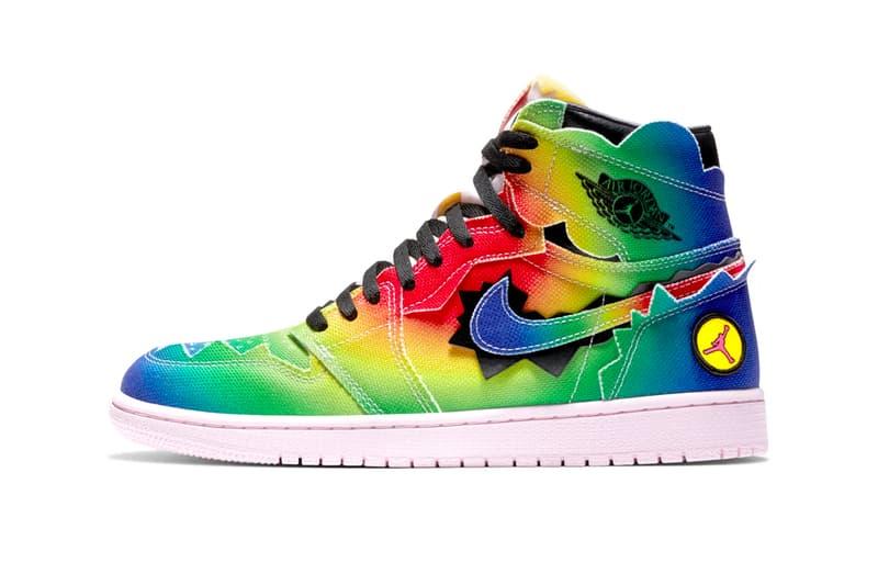 J Balvin Air Jordan 1 Retro High OG dc3481 900 menswear streetwear kicks trainers runners footwear shoes sneakers fw20 fall winter 2020 collection