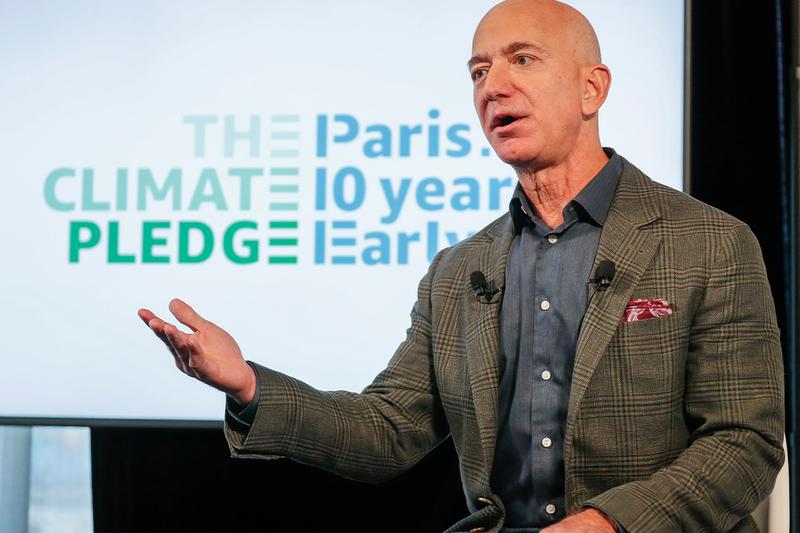 jeff bezos climate change sustainability environment fund 10 billion usd recipients beneficiaries