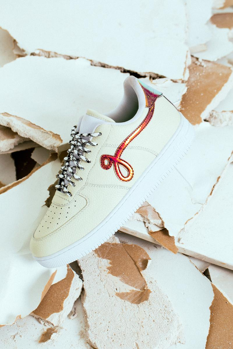 """John Geiger GF-01 Sneaker """"Off-White Pebbled Leather"""" colorway design shape release date info buy price"""