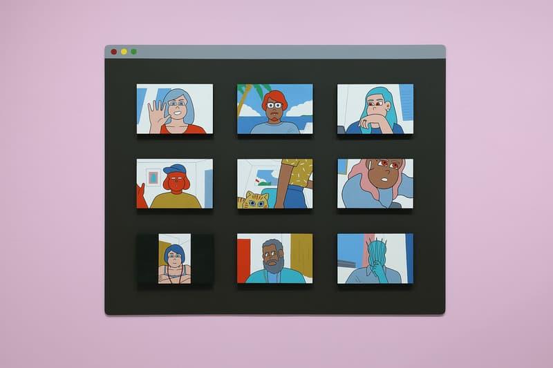 jun oson distance exhibition diesel art gallery artworks paintings