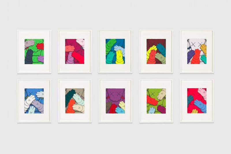 kaws urge portfolio screenprints editions artworks