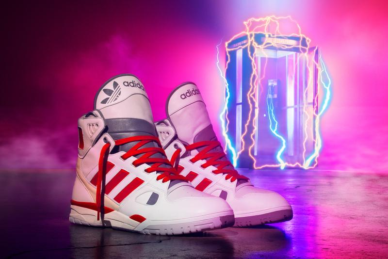 """Kid Cudi x adidas Originals Artillery Hi 'Bill & Ted' Sneaker Collaboration Drop Date Release Information Collection Closer First Look """"Wyld Stallyns"""" Basketball Shoe Footwear Trainer High Top"""