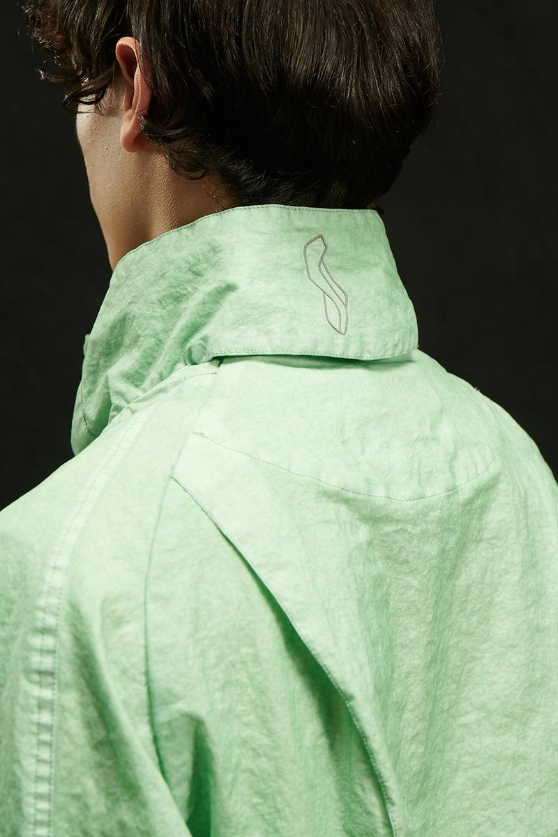 Kiko Kostadinov x C.P. Company Sinesis Jacket collaboration collection signal green release date info buy CO-TED limited edition release date info buy november 28