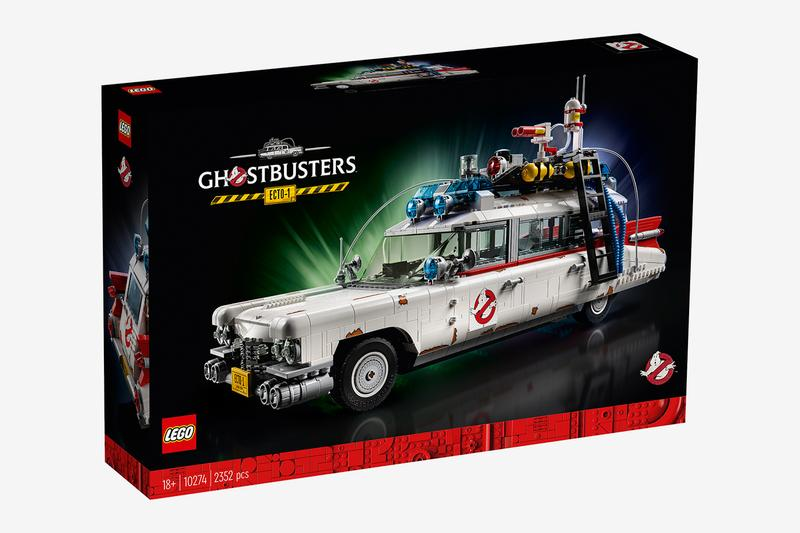 LEGO 2352 Piece Ghostbusters ECTO1 ectomobile movie franchise 1959 Cadillac Miller Meteor ambulance 6 14 curved windshield five module steering wheel toys figures Kit Buy Price info