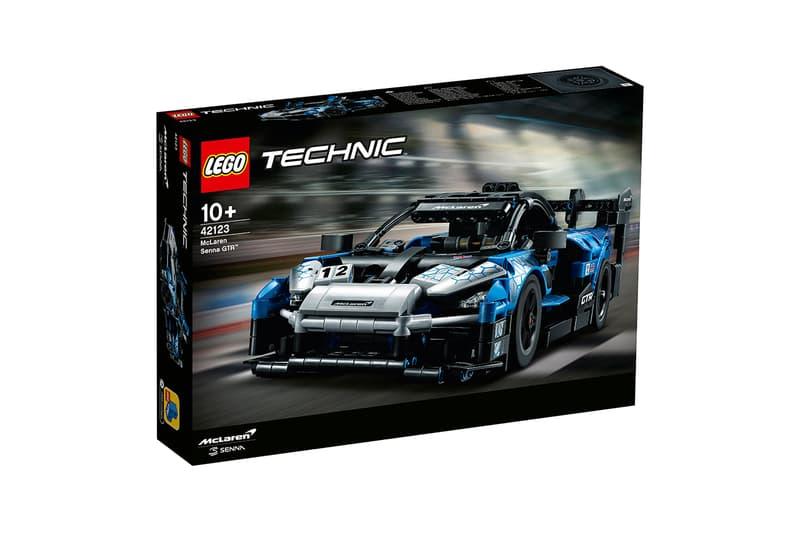 mclaren lego technic senna gtr release information 830 pieces buy cop purchase